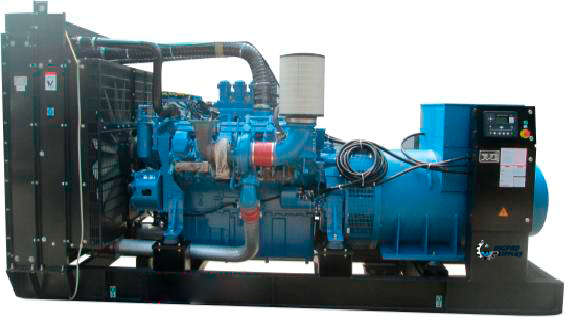 Grupo Generador Diesel 3500 Kva 3 Fases 1800 Rpm