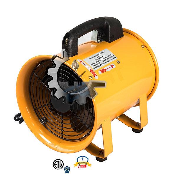 """INGPRO Ventilador Centrífugo 8"""" - 16"""" Diámetro  800-3400 CFM"""