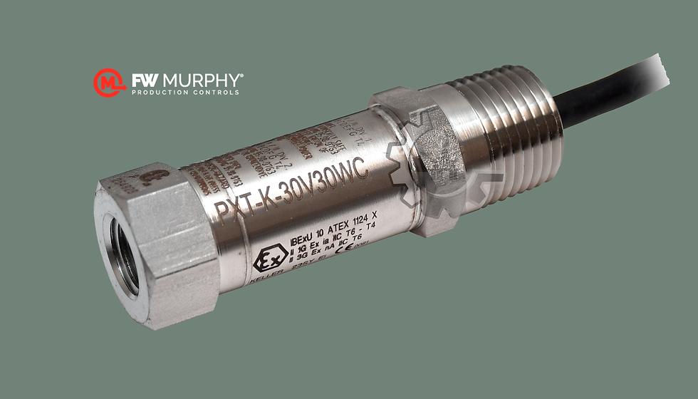 FW MURPHY® Transmisores de Presión C/Opción P/áreas Clasificadas