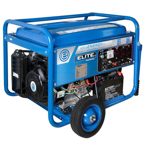 Grupo Generador Gasolina 6,5 Kva 120/240 1F 3600 Rpm ELITE