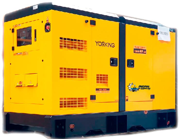 Grupo Generador Diesel 80 Kva 127/220 Volt 3 Fase 1800 Rpm