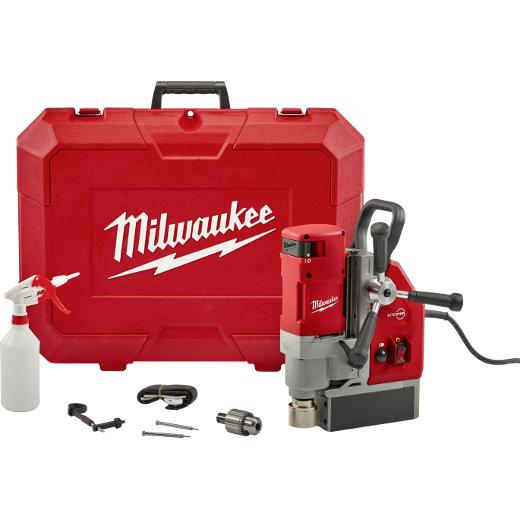 MILWAUKEE® Taladro Base Magnética 13 Amp,. 1560 Watts, 475/730 RPM