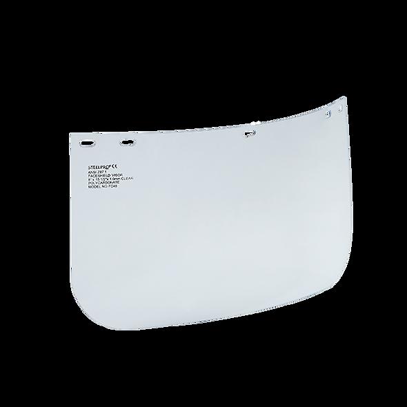 STEELPRO® Visor en Lámina de Policarbonato Flexible Claro
