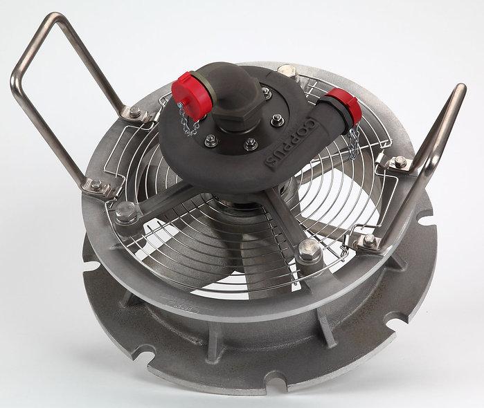 """COPPUS® MARINE VENTILATOR Ventilador Axial Neumático 12, 15"""""""