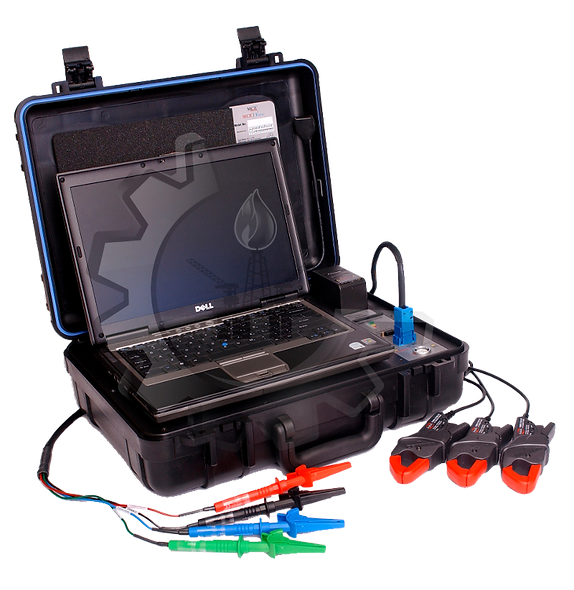 PdMA Emax Analizador Portátil Dinámico Para Motores 5Kv