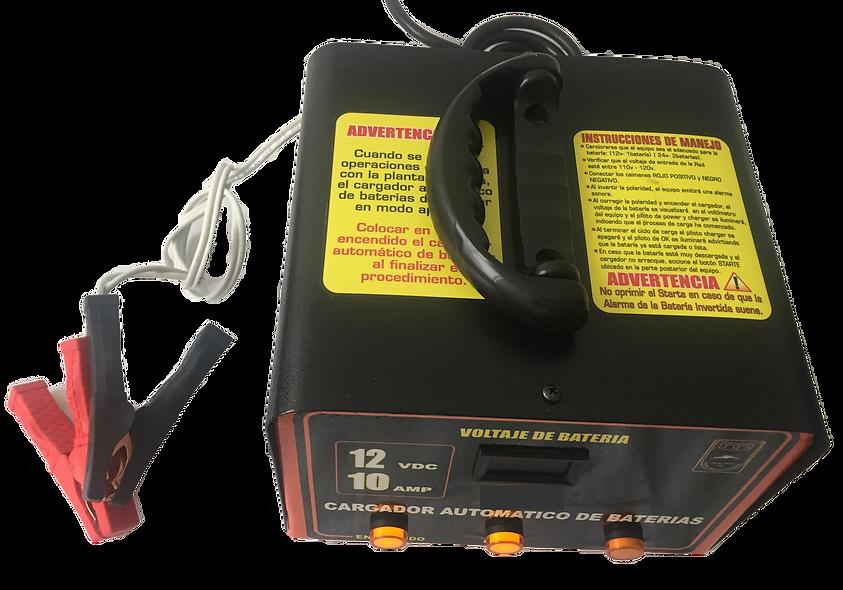 Cargador Automatico de Baterias 12VDC-10Amp