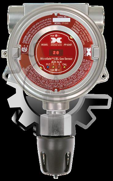 DETCON Detector de Gas LEL con Tecnología Catalítica