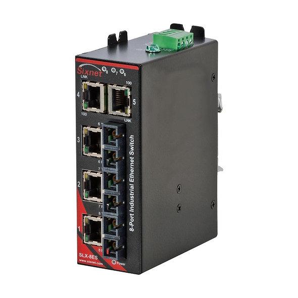 Conmutador Industrial Ethernet no administrado Sixnet®