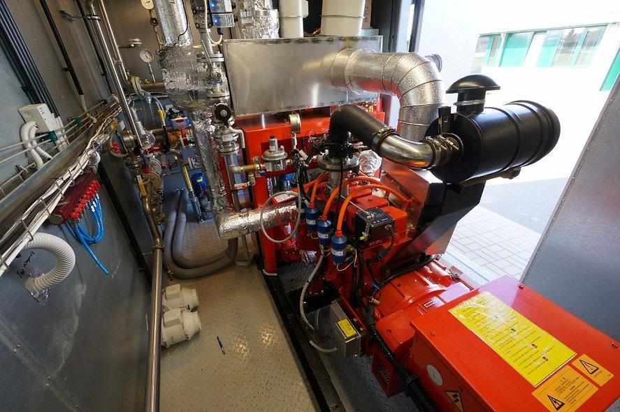 Grupo Generador a Gas 100 KVA 440/254 Volt 3F 1800 Rpm CUMMINS