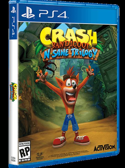 PS4 CRASH BANDICOOT TRILOGIA