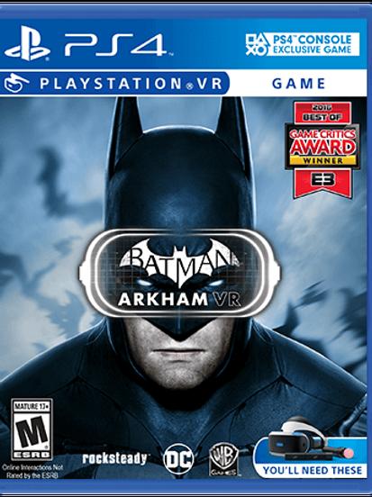 PS4 BATMAN ARCKHAM VR
