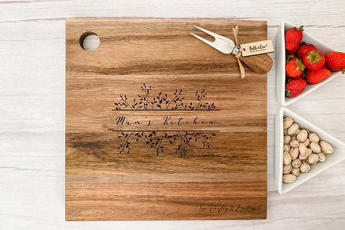 Personalised Cheese Board   Belle & Eve   Laurel Design