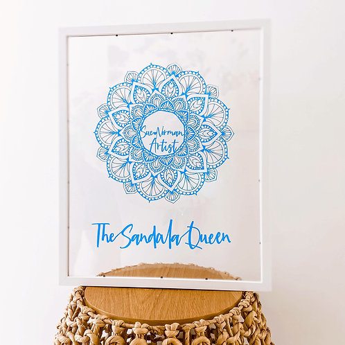 Mandala Personalised Papercut   Belle & Eve   Personalised Gifts