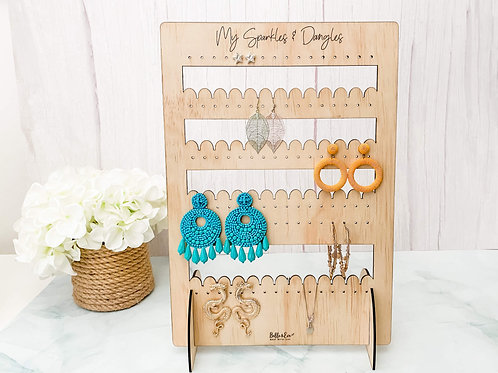 Earring Stand for Dangly Earrings | Modern Earring Display Stand | Belle & Eve