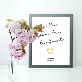 Love Actually Personalised Poster