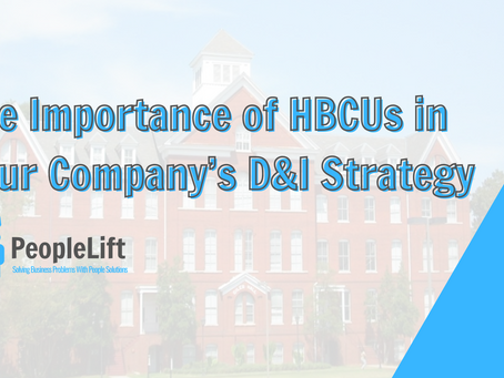 The Importance of HBCUs in Your Company's D&I Strategy