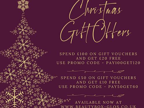 Christmas 2020 Gift Offer £120