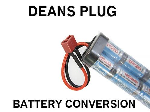 Dean Plug Battery Conversion Service