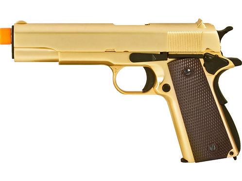 WE Gold 1911 Full Metal Gas Blowback Airsoft Gun