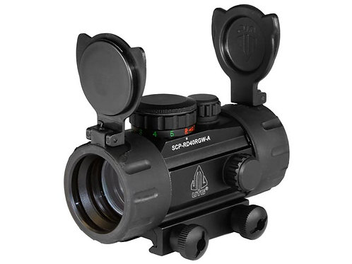 Leapers UTG 30mm Red/Green Dot Sight with Integrated Weaver Mount