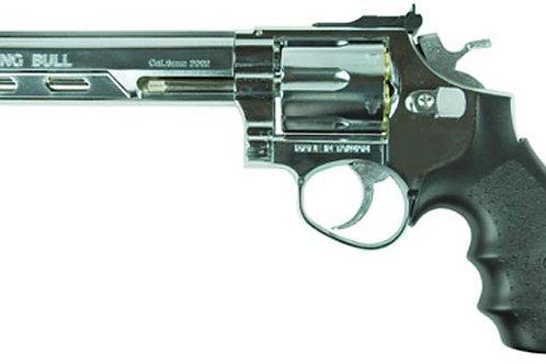 "HFC HG-133 Savaging Bull 6"" Barrel Gas Revolver, Silver"