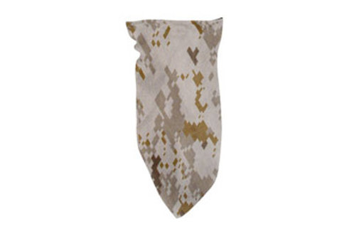 Zan Headgear Tactical 3-IN-1 Bandanna Fleece Lined Digital Desert Camo Airsoft
