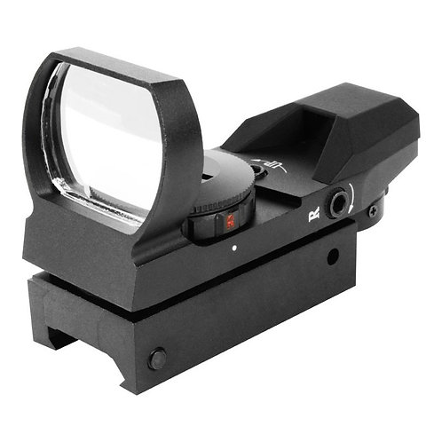 AIM Sports Red/Green Dot Reflex Sight w/ Four Reticles