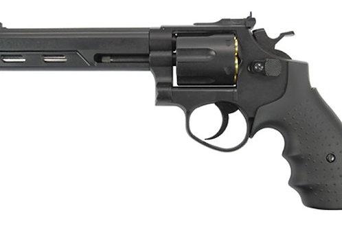 """HFC HG-133 Savaging Bull 6"""" Barrel Gas Revolver, Black"""