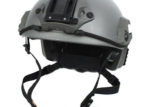 Lancer Tactical Maritime SpecOps Military Style Helmet w/ NVG Mount - Green