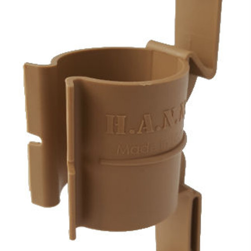 Hann Holsters Banger Clip, MOLLE Thunder B Grenade Holder, Tan