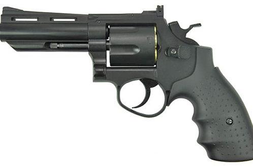 "HFC HG-132 4"" Barrel Gas Revolver, Black"