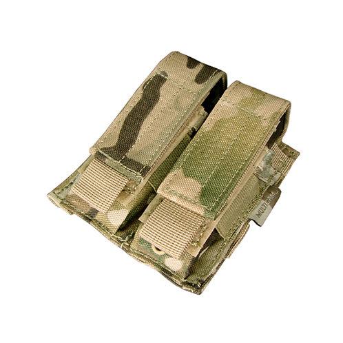Condor Double Pistol Mag Pouch, Multicam