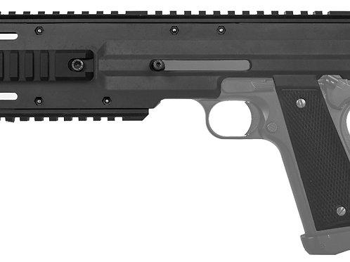 Lancer Tactical Carbine Conversion Kit for 1911/MEU Pistols, Black