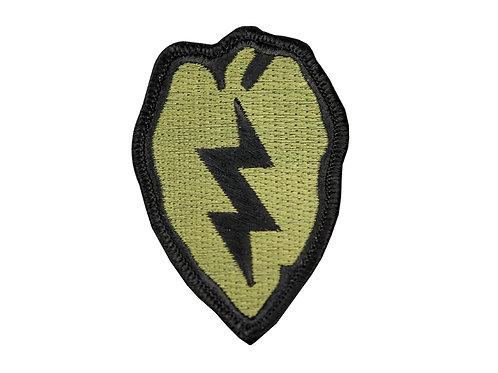 Raptors Tactical 2.5'' Lightning Bolt OD Iron On Patch