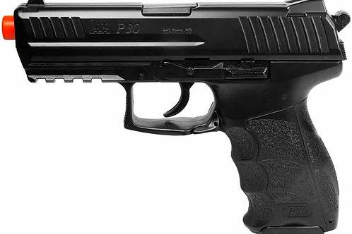 H&K P30 Spring Airsoft Pistol, Metal Slide