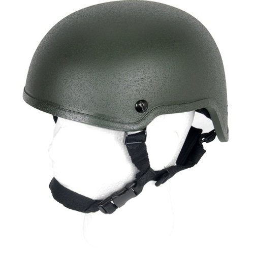 Lancer Tactical MICH 2001 Tactical Helmet, OD Green