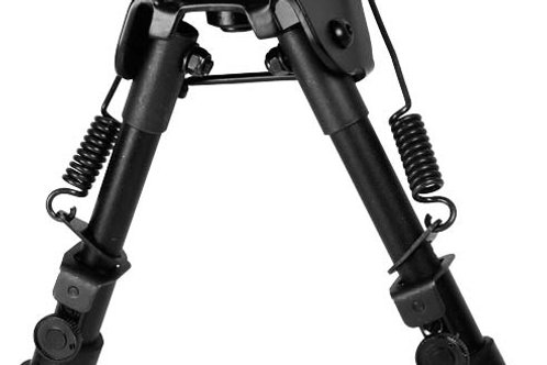 Leapers UTG Tactical OP Bipod, SWAT/Combat Profile, Telescoping & Folding Legs