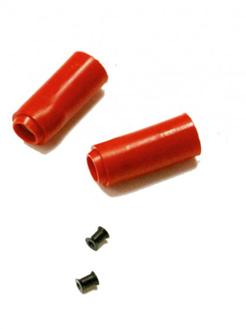 Mad Bull Airsoft Red Hop Up Bucking and Rubber 2-Pack