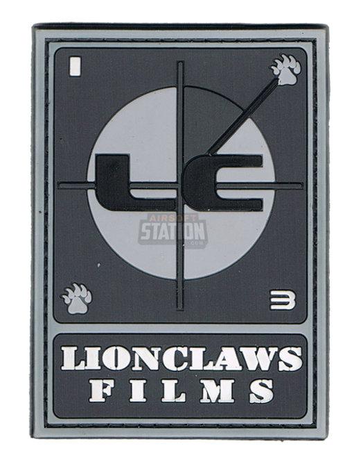 Lionclaws Films PVC Patch, Velcro Backed