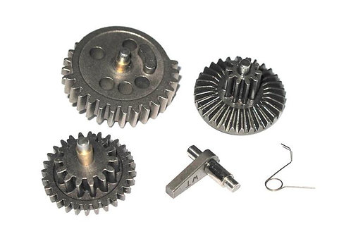 WII TECH Airsoft EBB Hardened High Speed Gear Set (For 455mm or Less Barrels)