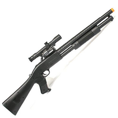 CYMA P799A Laser Riot Control Airsoft Shotgun