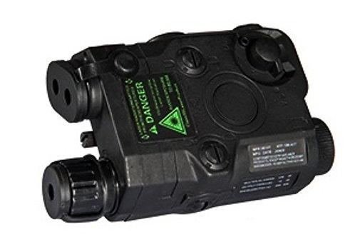 PEQ-15 Battery Box w/ Built In Green Laser, Black