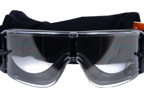 Lancer Tactical Airsoft Safety Goggles, Frameless, Clear Lens