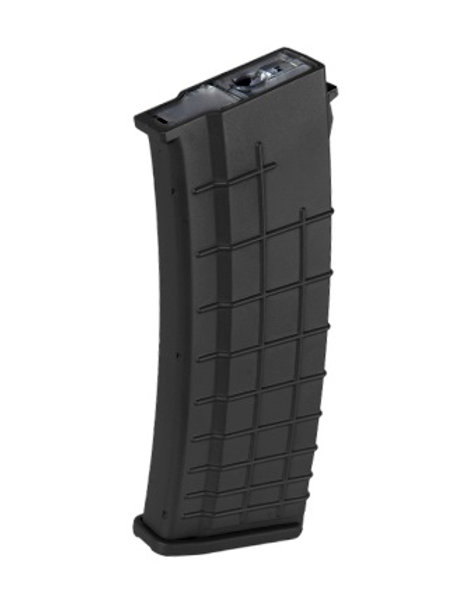 High Cap Magazine for Tactical AK by Lancer Tactical, 500 Rounds, Black