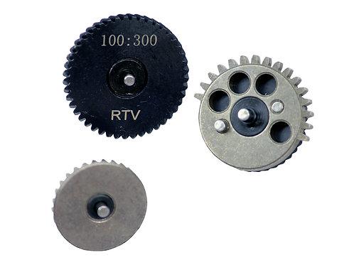Raptors Airsoft/ZCI CNC 100:300 Gears High Torque Airsoft AEG Gear Set