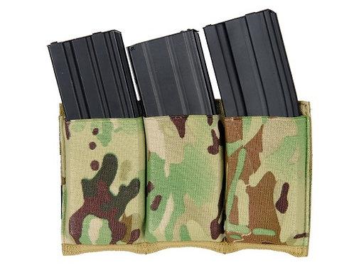 Lancer Tactical Triple M4 Magazine Pouch - Camo