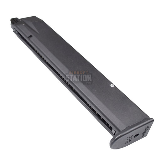 Walther PPQ GBB Extended Airsoft Magazine, 45 Round Capacity