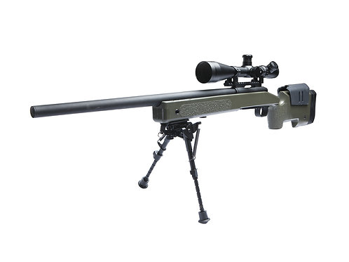 McMillan M40A3 Airsoft Sniper Rifle, OD/Black by ASG