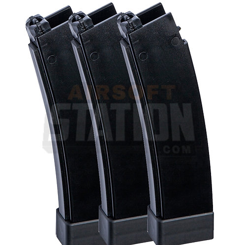 Scorpion EVO 3-A1 75 BB Magazine, 3-pack,by ASG