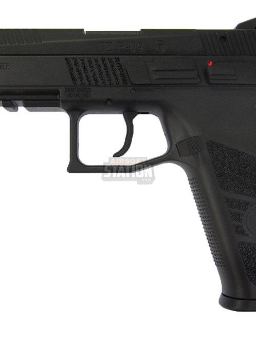 CZ P-09 Gas Blowback Airsoft Pistol w/ Metal Slide by ASG & KJW